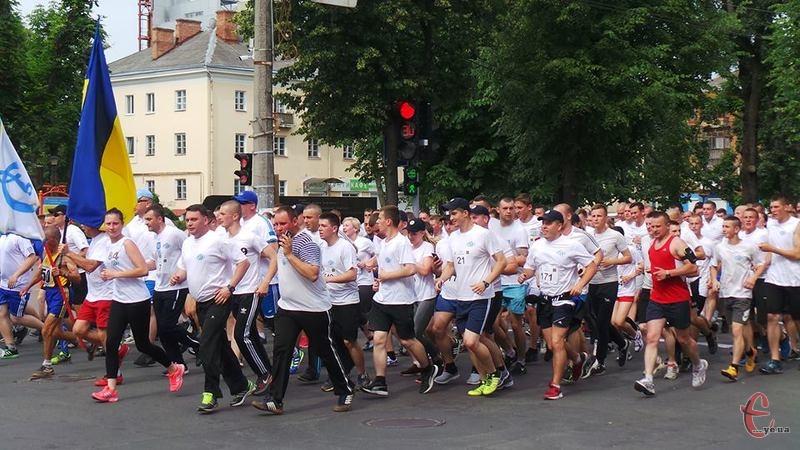 Учасники пробігу подолали трикілометрову дистанцію