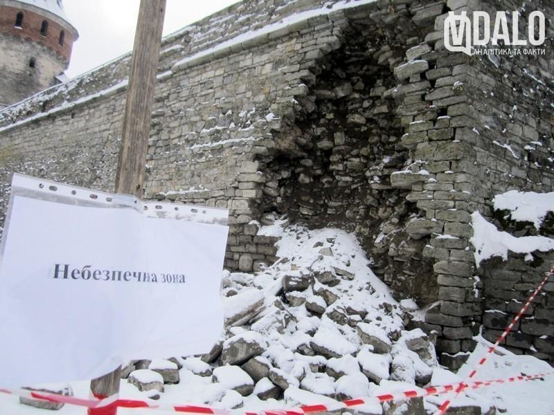 Директор Кам'янець-Подільського історичного музею-заповідника Олександр Заремба розповів про причини обвалу муру Старої фортеці
