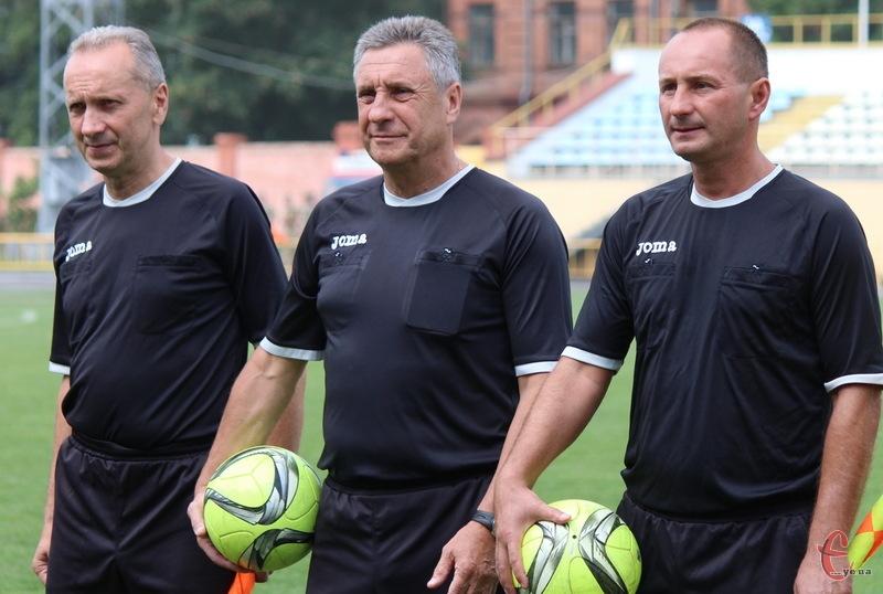 Ігор Хіблін (у центрі) став Заслуженим працівником фізичної культури і спорту України