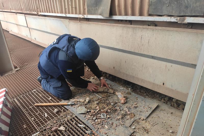 На Кам\'янець-Подільському цементному заводі знайшли сняряд часів Другої Світової війни