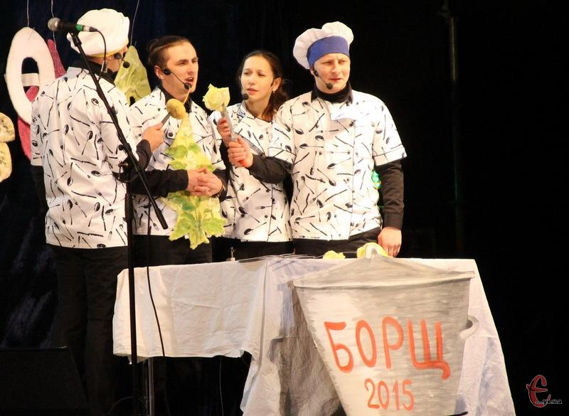 Політичні партії заварили фестивальний борщ, а тому в Хмельнциькому три дні були різні концерти