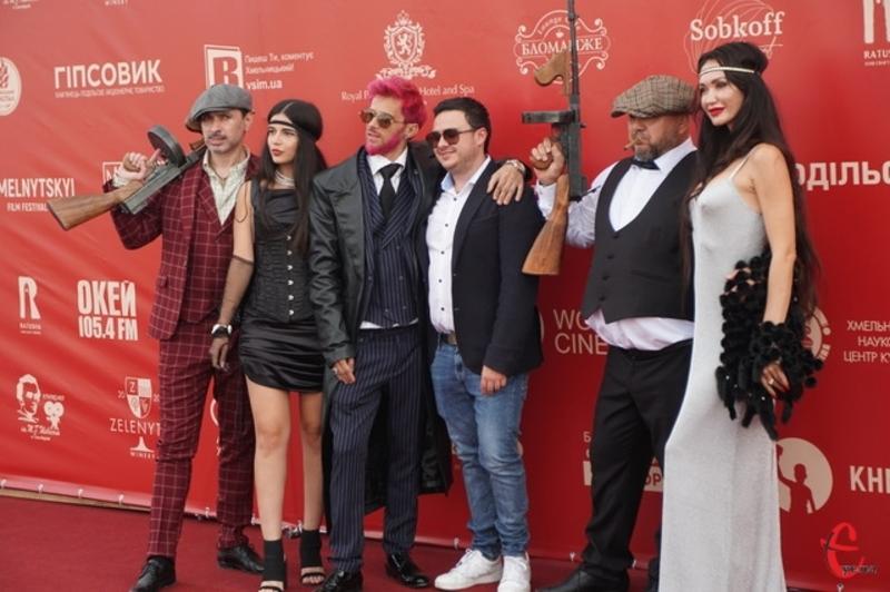 Відкриття Першого Хмельницького кінофестивалю проходило 10 вересня у Кам'янці-Подільському