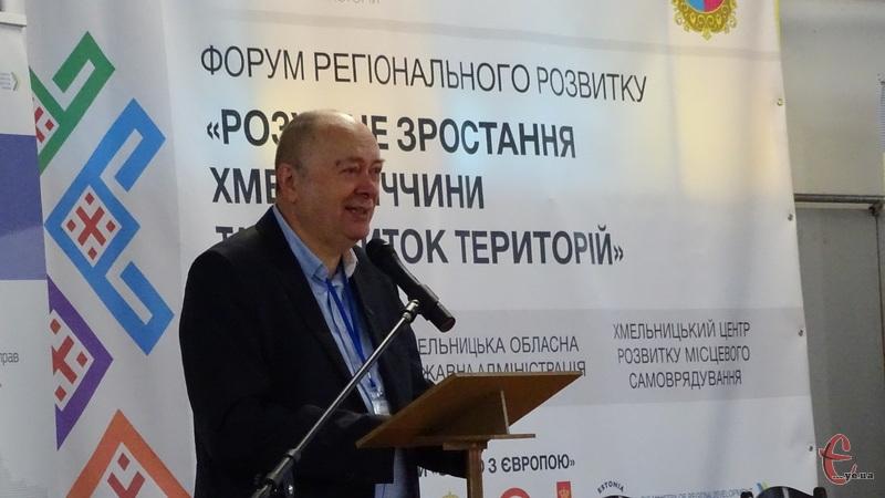 За словами Анатолія Ткачука, Хмельниччина має основу для розумного розвитку