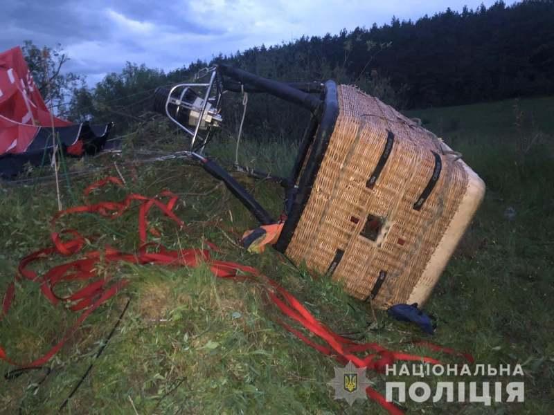 Внаслідок падіння повітряної кулі загинув 53-річний житель Прилук