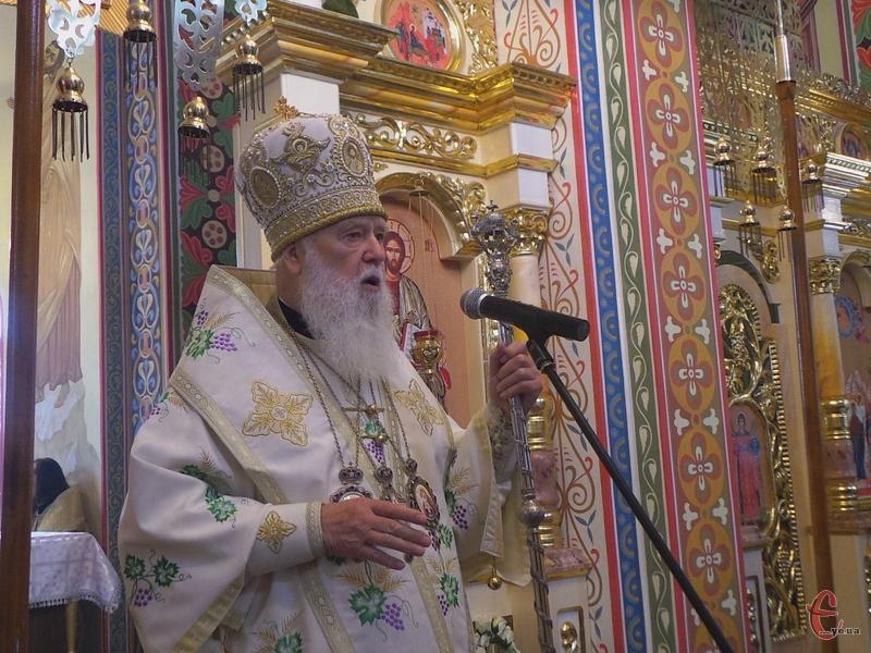 Патріарх Філарет: Турбуватися про вічне життя – це значить виконувати Волю Божу