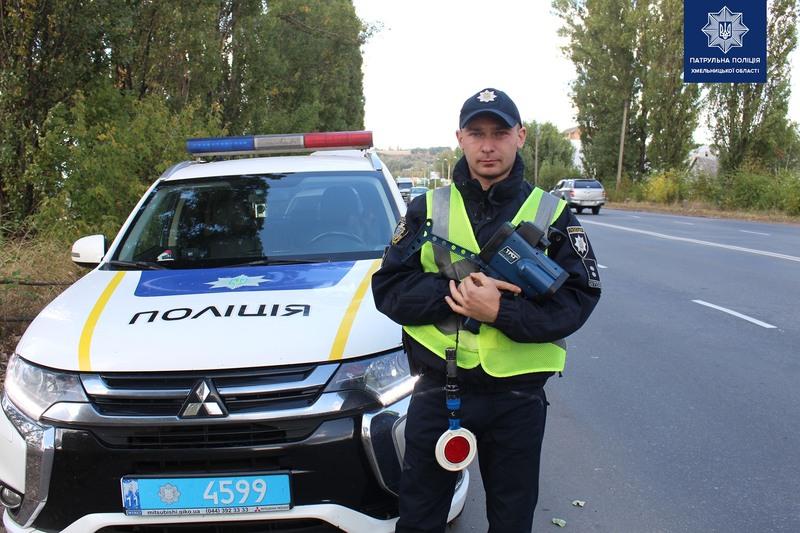 Всього в області на чотирьох ділянках автодоріг поліція вимірує швидкість руху транспорту за допомогою приладу TruCam