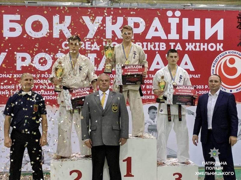 Патрульний з Хмельницького здобув