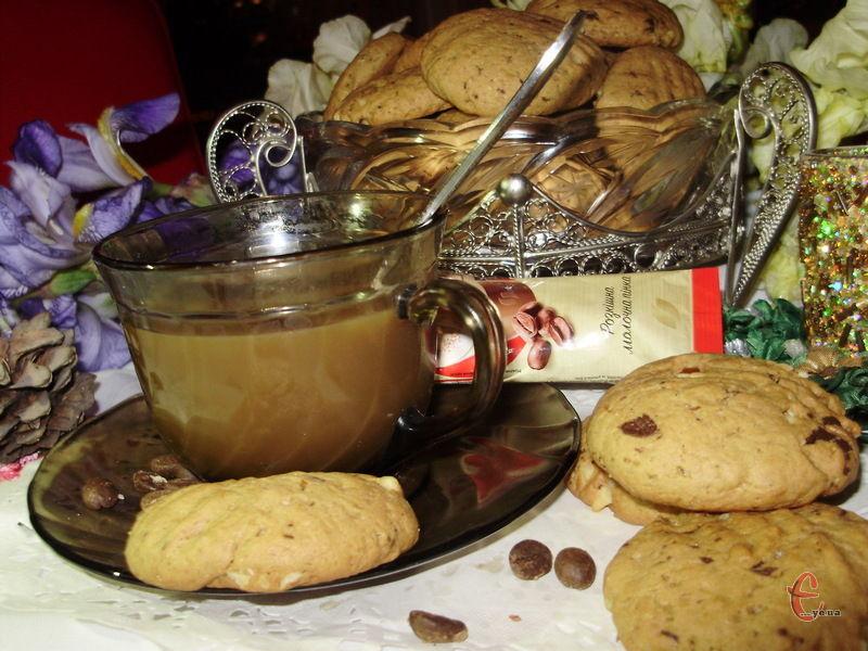 Кавоманан присвячується! Чудовий розсипчастий смаколик із легким та ніжним ароматом улюбленого напою!