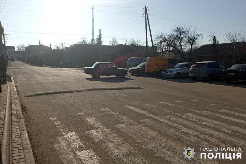 Аварія сталася у Деражні на вулиці Леся Українки