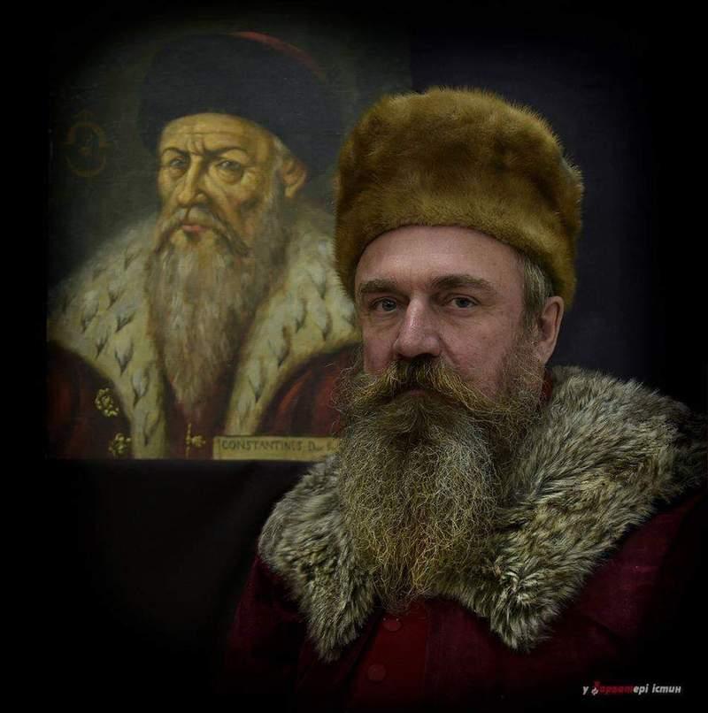 Кажуть, Олег Погорілець ідеально підійшов під образ князя Василя Костянтина Острозького