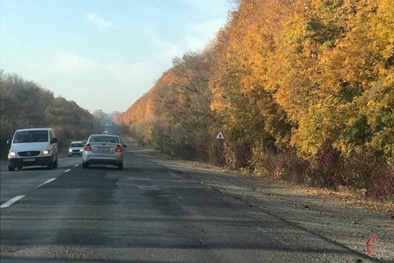 На дороги Хмельниччини минулого року виділили понад півмільярда гривень