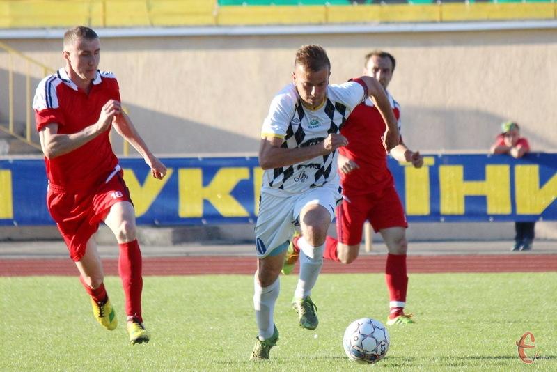 Сергій Олексюк став автором першого голу в історії ФК Хмельницький в першості України серед аматорів