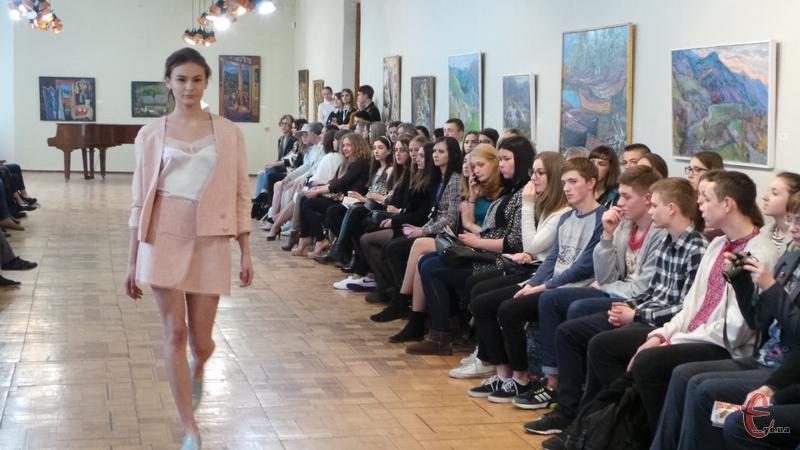 Моделі хмельницької дизайнерки Natali Dudku вирізнялися своєю витонченістю і легкістю.