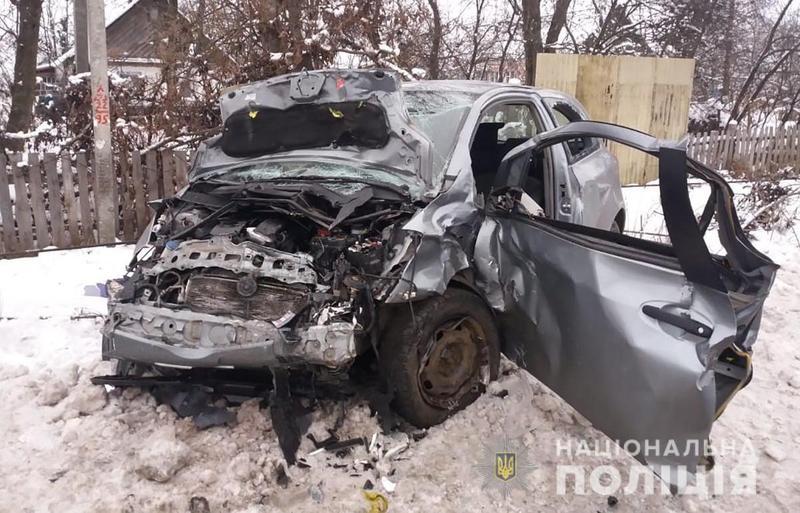 Дорожньо-транспортна пригода сталася 18 грудня близько 7.45 у селі Двірець Житомирського району