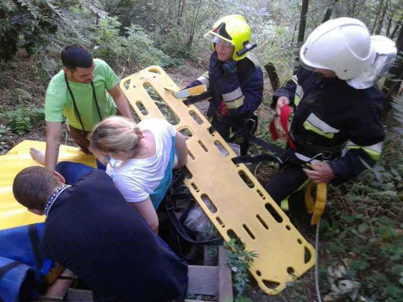 Жінка постраждала внаслідок невдалої переправи через каньойн