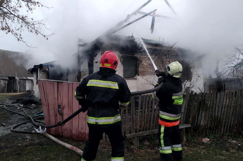 Під час пожежі загинула жінка