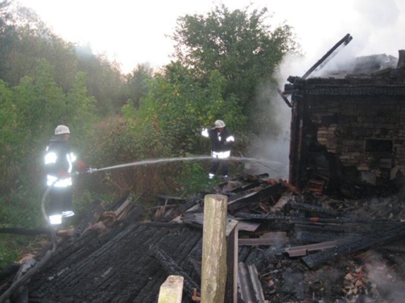 Вогонь знищив особисте майно в кімнатах та покриття