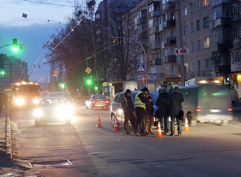 ДТП сталася на вулиці Зарічанській
