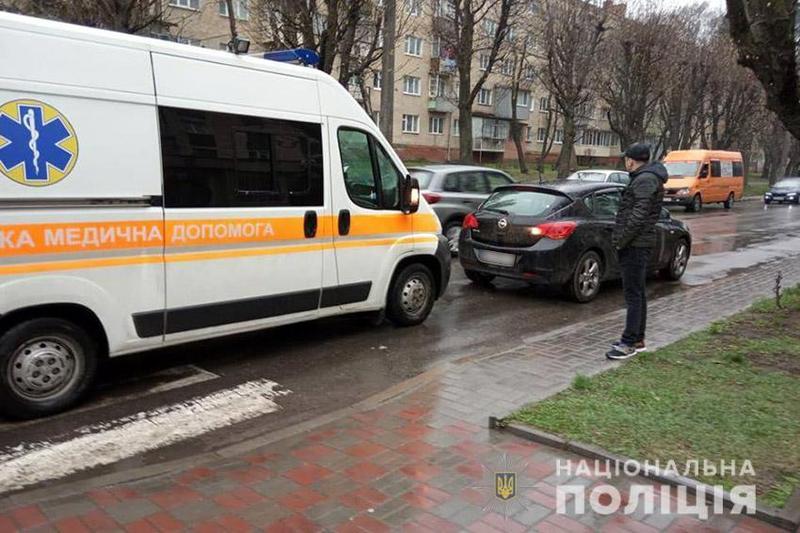 ДТП сталася на вулиці Інститутській