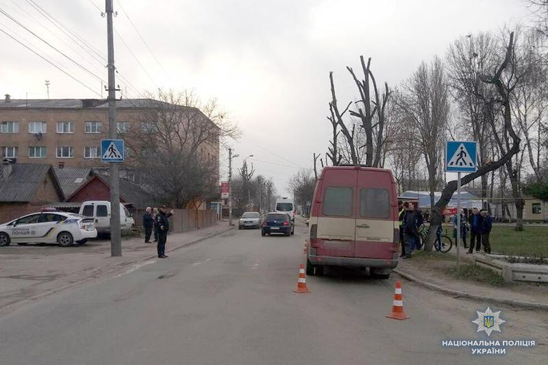 У Хмельницькому під колеса маршрутки потрапив 7-річний хлопчик