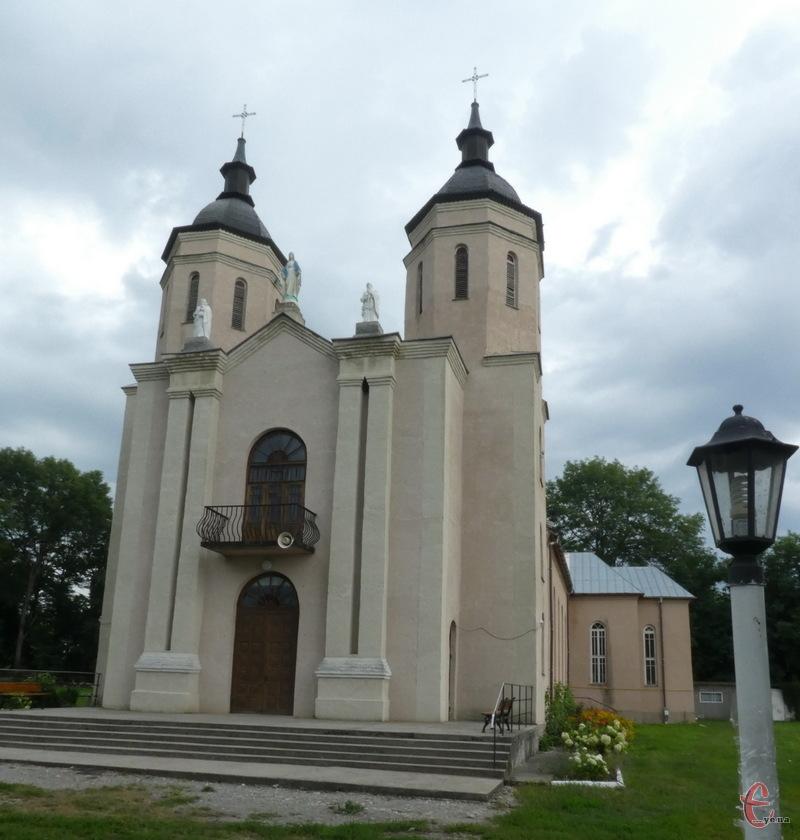 Костел у Тинній Дунаєвецького району