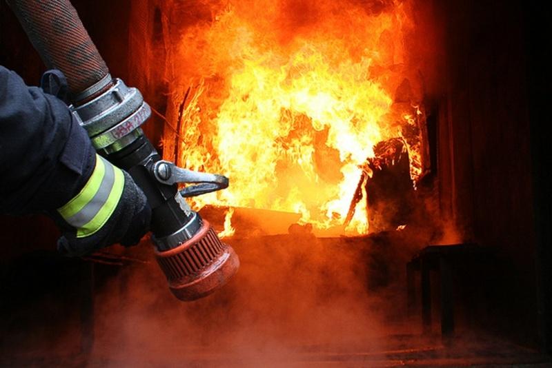 Причина пожежі - необережне поводження з вогнем