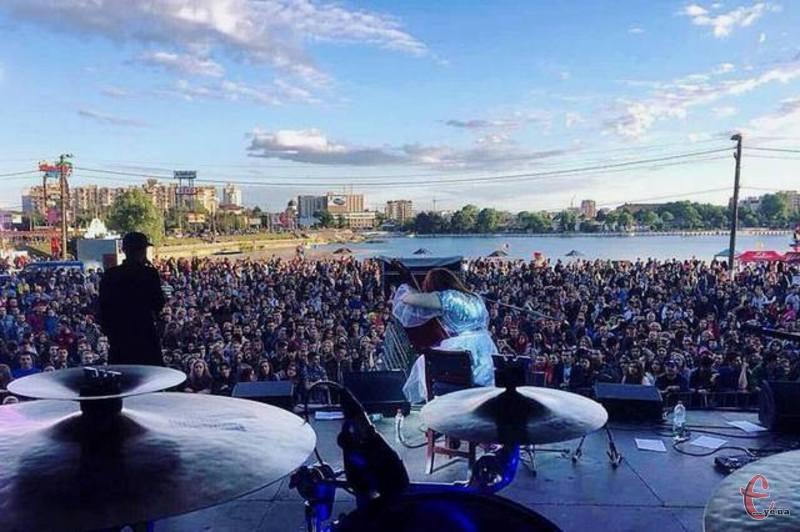 Фестиваль в Хмельницькому проходить вдруге