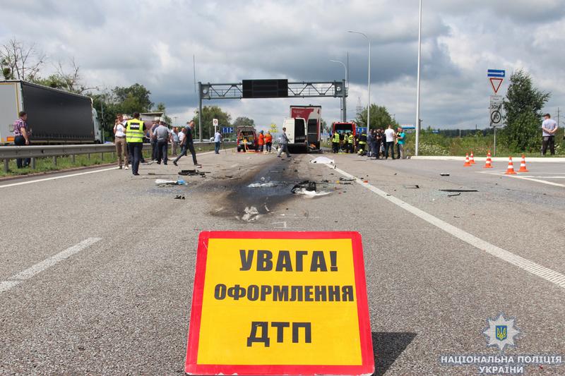 20 липня на дорогах України лише в трьох ДТП загинули 18 людей...