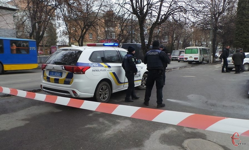 5 лютого в Хмельницькому в обласному управлінні лісового господарства та мисливського господарства знайшли підозрілу сумку
