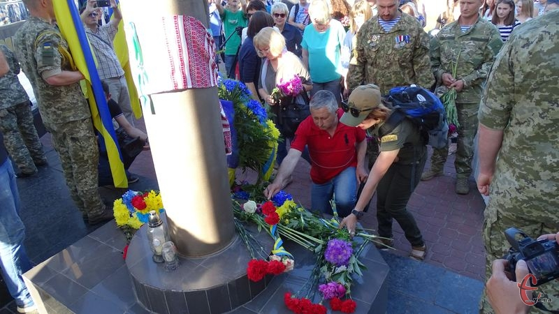 23 травня у Хмельницькому було чимало заходів до Дня Героя