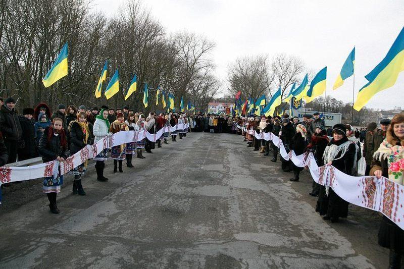 Завтра Україна відзначатиме 100 років з дня проголошення Акту Злуки Злуки Української Народної Республіки та Західно-Української Народної Республіки