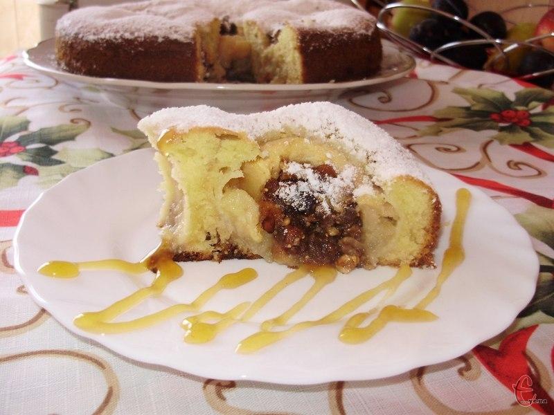 Розріз пирога — просто дивовижний!