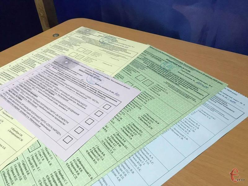 Хмельницька районна ТВК перерахувала підсумки голосування до районної ради