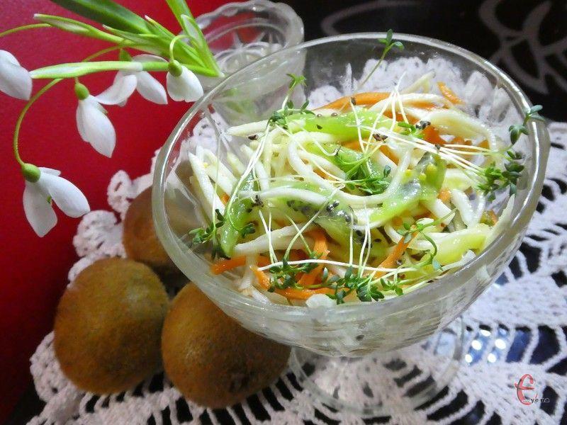 Салати з коренем селери є чудовою профілактикою авітамінозу й справжньою окрасою пісного меню.