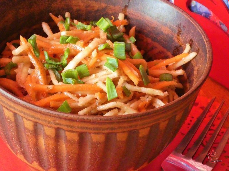 Яскравий й соковитий салат з корисних інгредієнтів!