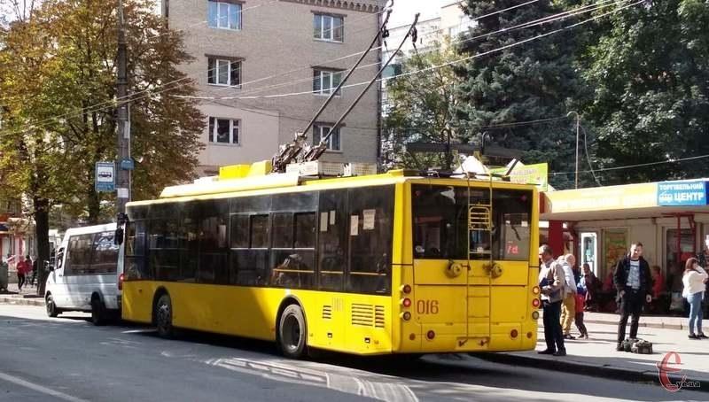 29 і 30 вересня усі жителі та гості міста їздитимуть у тролейбусах безкоштовно