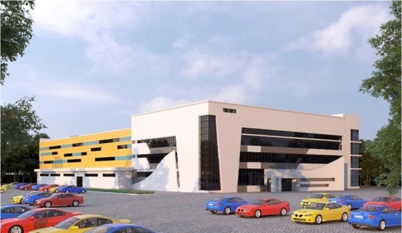 На місці майбутнього Палацу спорту вже завершено земельні роботи