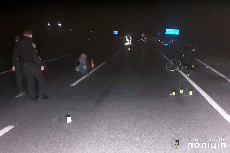 В автопригоді травмувалась велосипедистка