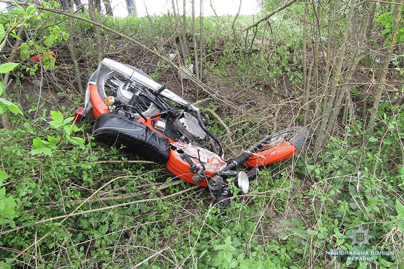 У Городоцькому районі в ДТП загинув мотоцикліст