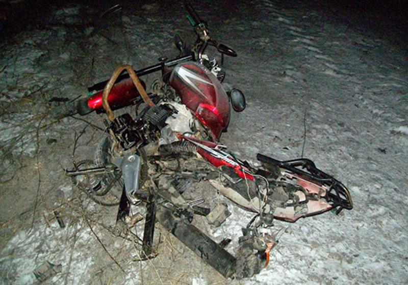 Мотоцикліст загинув на місці події
