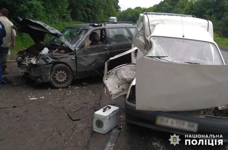 На Хмельниччині поліцейські з'ясовують обставини ДТП з травмованими
