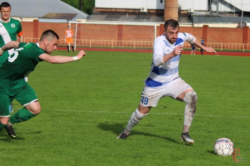 Віталій Каверін забив, але Поділля не змогло втримати перемогу в матчі з Нивою