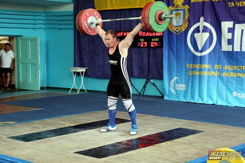 Володимир Болгарин став чемпіоном України в ваговій категорії до 85 кілограмів