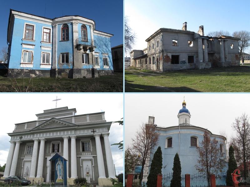 У Чорному Острові збереглося декілька цікавих пам'яток архітектури