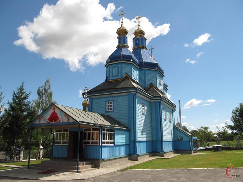 Ключівську церкву підтримують у гарному стані