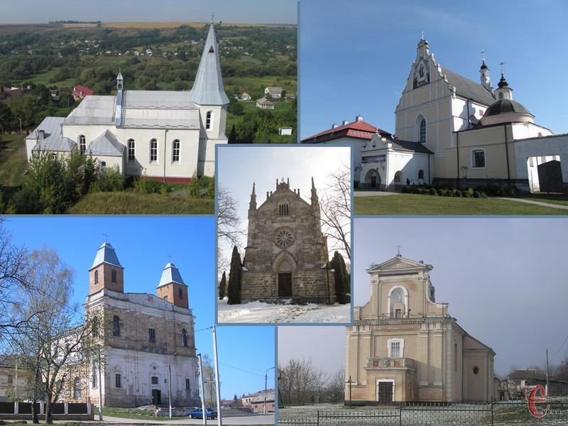 На Хмельниччині збереглися старовинні костели у різному стані