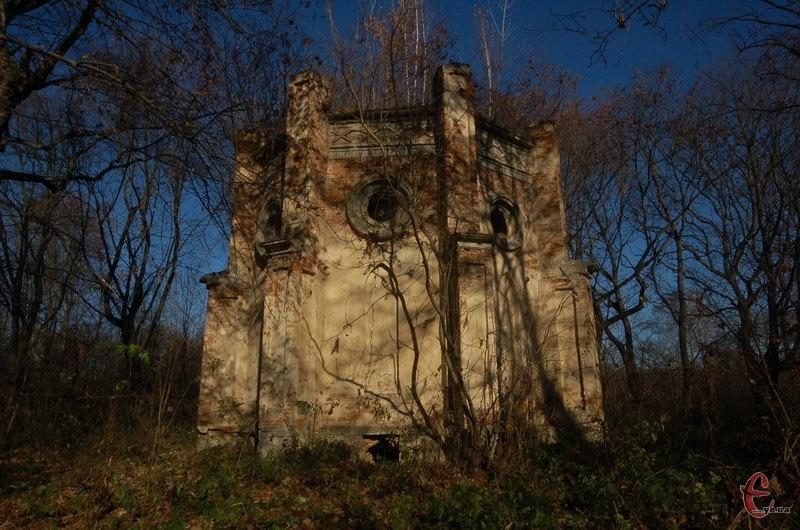 Склеп Хилинських на польському кладовищі