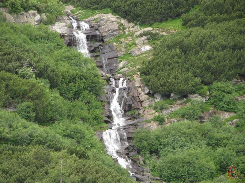 Прутський чи Говерлянський водоспад