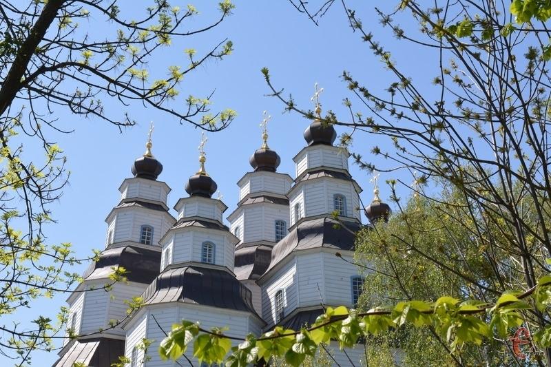 Троїцький собор збудований без жодного цвяха