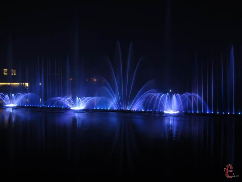 Вінницький фонтан вважається найбільшим у Європі